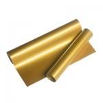 Decal ép nhiệt PU Trung Quốc mầu Vàng Gold - T012