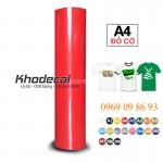 Decal chuyển nhiệt in áo cắt ép nhiệt PVC giá chỉ 77k/m
