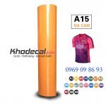 Decal cuộn PVC mầu cam cắt tốt giá cạnh tranh - khodecal.com