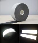 Decal dây phản quang bản 3cm ép nhiệt trên đai thân giá rẻ