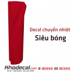 Decal chuyển nhiệt mặt bóng đẹp mầu đỏ chính hãng Hàn Quốc giá rẻ nhất